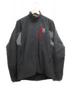 HAGLOFS(ホグロフス)の古着「LIZARD II JACKET」|ブラック