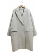 1er Arrondissement(プルミエ アロンディスモン)の古着「ニューイングランドメルトンコート」|グレー