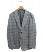 SHIPS(シップス)の古着「テーラードジャケット」|グレー×ブルー