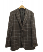 DURBAN(ダーバン)の古着「テーラードジャケット」|ベージュ
