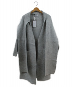 OSKAR(オスカー)の古着「Cotton Jacquardwrap Dress」|グレー