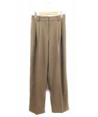 TODAYFUL(トゥデイフル)の古着「Centerpress Trousers」|ブラウン