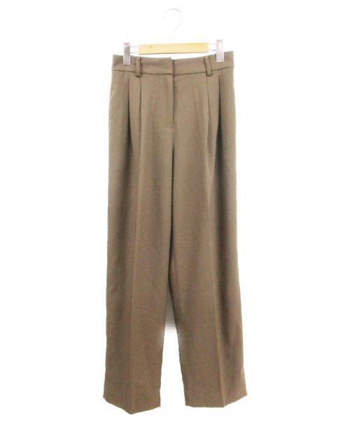 TODAYFUL(トゥデイフル)TODAYFUL (トゥデイフル) Centerpress Trousers ブラウン サイズ:38 未使用品の古着・服飾アイテム