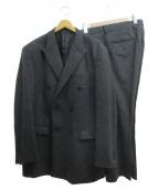 MR.GENTLEMAN(ミスタージェントルマン)の古着「DOUBLE SET UP JACKET」 グレー