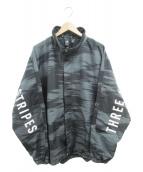 adidas(アディダス)の古着「ナイロンジャケット」|ブラック