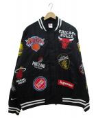 SUPREME×NIKE(シュプリーム × ナイキ)の古着「NBA Teams Warm-Up Jacket」|ブラック