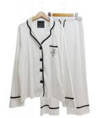 lob saltzman(ロブサルツマン)の古着「セットアップパジャマ」|ホワイト
