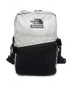 SUPREME×THE NORTH FACE(シュプリーム×ザ・ノースフェイス)の古着「METALLIC SHOULDER BAG」|シルバー