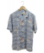 pataloha(パタロハ)の古着「アロハシャツ」 ネイビー