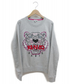 KENZO(ケンゾー)の古着「タイガースウェットシャツ」 グレー