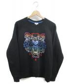 KENZO(ケンゾー)の古着「タイガースウェットシャツ」 ブラック