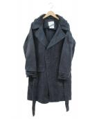 STEPHAN SCHNEIDER(ステファン・シュナイダ)の古着「フーデッドコート」|ブラック