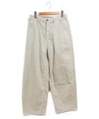 TODAYFUL(トゥデイフル)の古着「Corduroy Ankle Pants」|アイボリー