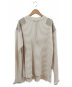 TODAYFUL(トゥデイフル)の古着「Vintage Commando Knit」|アイボリー