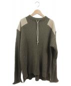 TODAYFUL(トゥデイフル)の古着「Vintage Commando Knit」|カーキ