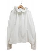 TOGA(トーガ)の古着「Stretch taffeta blouse」 ホワイト