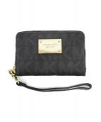 MICHAEL KORS(マイケルコース)の古着「財布」|ブラック
