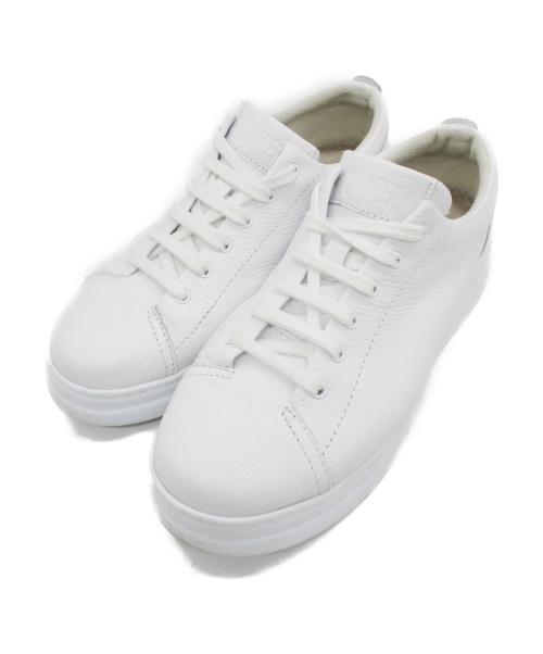 CAMPER(カンペール)CAMPER (カンペール) レザースニーカー ホワイト サイズ:38の古着・服飾アイテム
