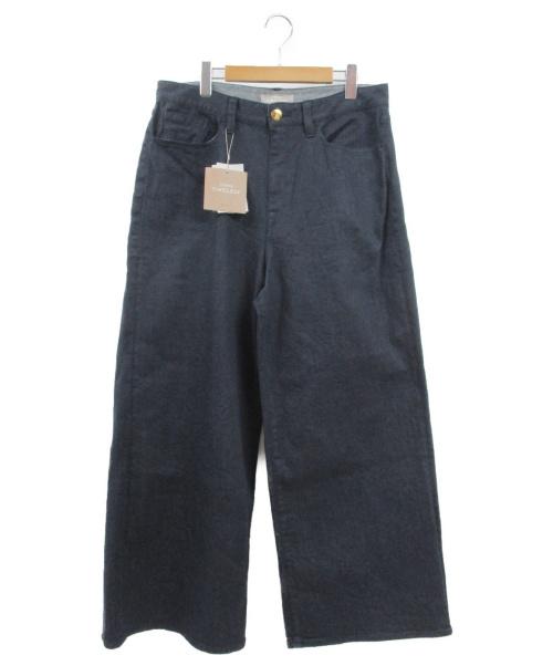 自由区(ジユウク)自由区 (ジユウク) デニムパンツ インディゴ サイズ:w30 未使用品の古着・服飾アイテム