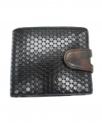 HIROKO HAYASHI(ヒロコ ハヤシ)の古着「CARDINALE2つ折り財布」 ブラック