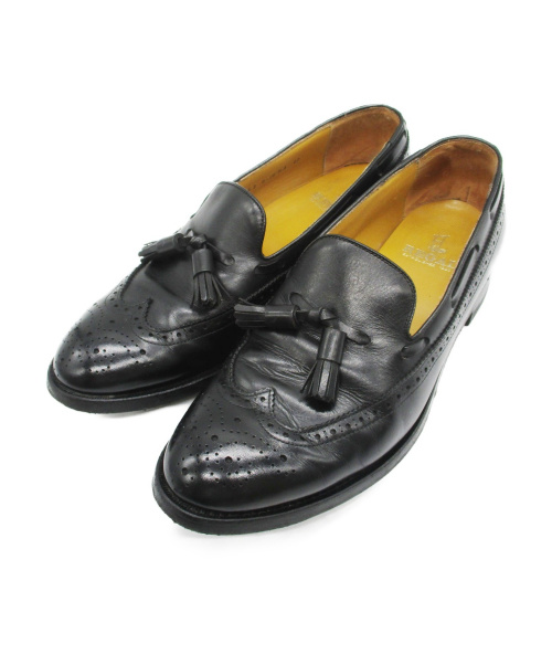 REGAL(リーガル)REGAL (リーガル) タッセルローファー ブラック サイズ:27cmの古着・服飾アイテム