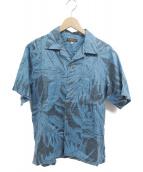 Sun Surf(サンサーフ)の古着「アロハシャツ」|ブルー