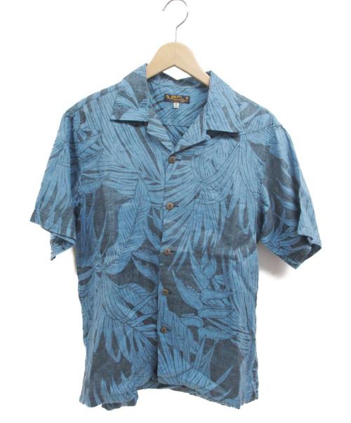 Sun Surf(サンサーフ)Sun Surf (サンサーフ) アロハシャツ ブルー サイズ:Mの古着・服飾アイテム