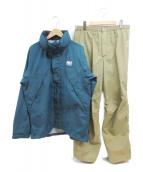 HELLY HANSEN(ヘリーハンセン)の古着「RAIN SUIT」|ブルー