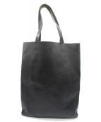 ORCIANI(オルチアーニ)の古着「レザートートバッグ」|ブラック