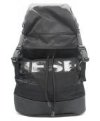 DIESEL(ディーゼル)の古着「F-SUSE BACKPACK」|ブラック