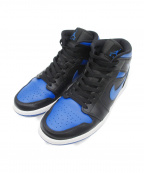 NIKE()の古着「AIR JORDAN 1 MID ROYAL」|ブルー