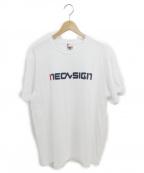 NEON SIGN()の古着「FILA Official Bootleg T-shirt」 ホワイト