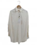 Loungedress(ラウンジドレス)の古着「ワイドシャツ」 アイボリー
