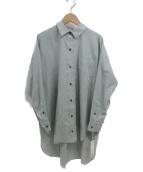 GALLARDA GALANTE(ガリャルダガランテ)の古着「ボックスオーバーシャツ」|カーキ