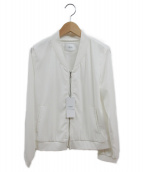 VICKY(ビッキー)の古着「コンパクトブルゾン」|ホワイト
