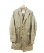 ASPESI(アスペジ)の古着「ステンカラーコート」 ベージュ