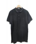 BOTTEGA VENETA(ボッテガヴェネタ)の古着「ポロシャツ」 ブラック