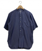 BLURHMS(ブラームス)の古着「半袖シャツ」 ブルー