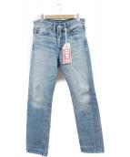 LEVIS VINTAGE CLOTHING(リーバイス ヴィンテージ クロージング)の古着「1954'S501ZXX復刻デニムパンツ」|ブルー