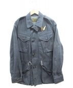 POLO RALPH LAUREN(ポロラルフローレン)の古着「Military Paratrooper Jacket」|ネイビー