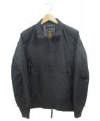 HOUSTON(ヒューストン)の古着「タンカースジャケット」 ブラック
