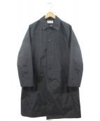 EN ROUTE(アンルート)の古着「ナイロンステンカラーコート」|ブラック