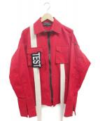 YUZHE STUDIOS(ユージャストゥディオス)の古着「ジャケット」|レッド