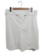 DOUBLE STANDARD CLOTHING(ダブルスタンダードクロージング)の古着「アサレチック ショートパンツ」|ホワイト