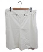 DOUBLE STANDARD CLOTHING(ダブルスタンダードクロージング)の古着「アサレチック ショートパンツ」 ホワイト