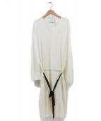 TAN(タン)の古着「ニットワンピース」 ホワイト