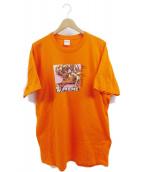 Supreme(シュプリーム)の古着「Lovers Tee」|オレンジ