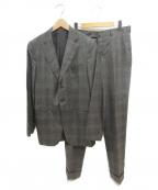 ISAIA(イザイア)の古着「セットアップスーツ」 ブラウン