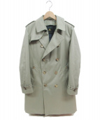 GRENFELL(グレンフェル)の古着「BEGGウールライナートレンチコート」|ベージュ