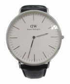 Daniel Wellington(ダニエルウェリントン)の古着「腕時計」|ブラック